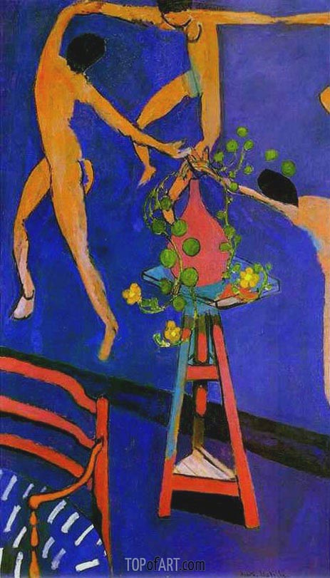 Nasturtiums with 'The Dance' II, 1912 | Matisse | Painting Reproduction