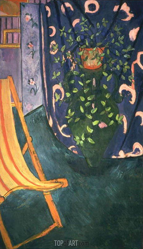 Corner of the Artist's Studio, 1912 | Matisse | Painting Reproduction