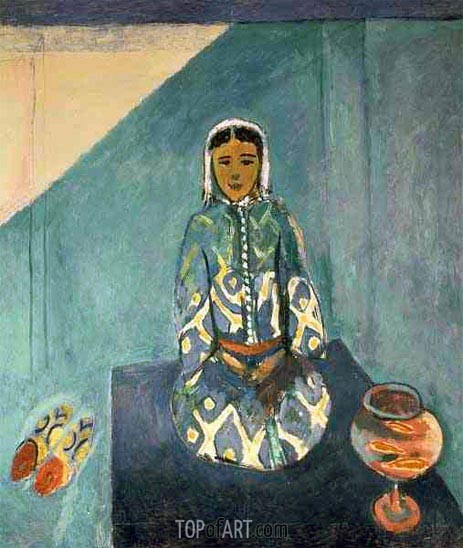 On the Terrace, c.1912/13 | Matisse | Painting Reproduction