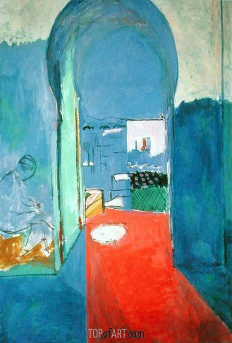 Entrance to the Casbah, c.1912/13 | Matisse | Painting Reproduction