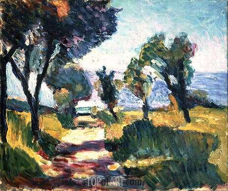 Olive Trees, undated | Matisse | Painting Reproduction