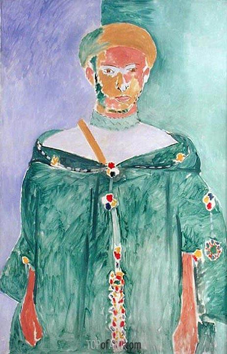Matisse | Standing Moroccan in Green (Standing Riffian), 1913