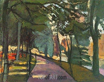 Matisse | Path in the Bois de Boulogne, 1902
