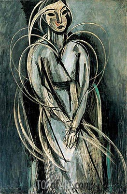 Matisse | Mademoiselle Yvonne Landsberg, 1914