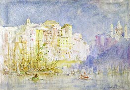 Genoa, 1912 by Tuke | Painting Reproduction