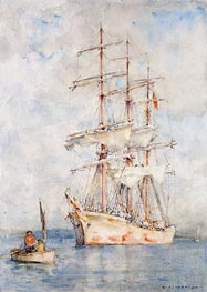 The White Ship, 1915 von Tuke | Gemälde-Reproduktion