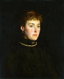 Alice Mary Clifford, Lady Hamilton-Dalrymple, 1891 by Tuke | Painting Reproduction