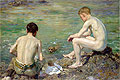 Three Companions | Henry Scott Tuke