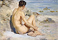 Boy on a Beach | Henry Scott Tuke