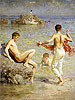 Gleaming Waters | Henry Scott Tuke