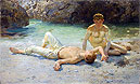 Noonday Heat | Henry Scott Tuke