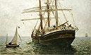 The Missionary Boat | Henry Scott Tuke
