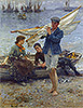 Return from Fishing | Henry Scott Tuke