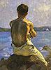 The Lighthouse | Henry Scott Tuke