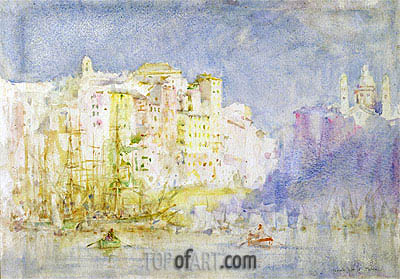 Genoa, 1912 | Tuke| Painting Reproduction