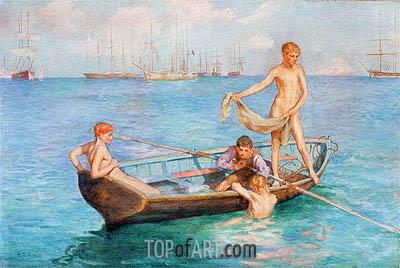 Tuke | August Blue, 1896
