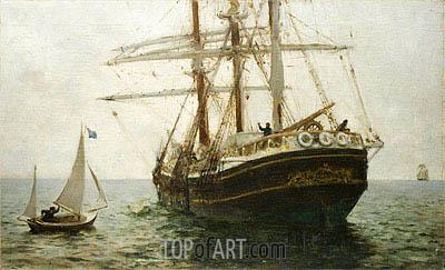 Tuke | The Missionary Boat, 1894