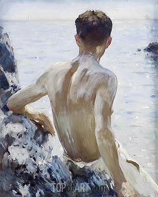 Tuke | Beach Study, c.1928