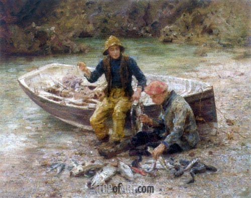 Tuke | The Good Catch, 1913