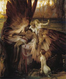 The Lament for Icarus, 1898 by Herbert James Draper | Painting Reproduction