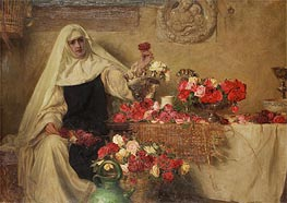 For Saint Dorothea's Day, 1899 by Herbert James Draper | Painting Reproduction