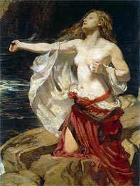 Ariadne, c.1905 by Herbert James Draper | Painting Reproduction