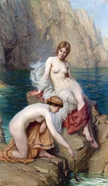 By Summer Seas, 1912 by Herbert James Draper | Painting Reproduction