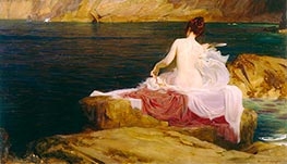 Calypso's Isle, c.1897 by Herbert James Draper | Painting Reproduction