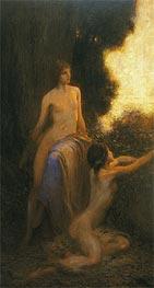 Reveil, 1918 by Herbert James Draper | Painting Reproduction