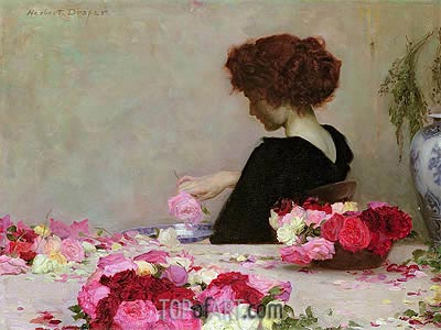 Pot Pourri, 1897 | Herbert James Draper | Painting Reproduction