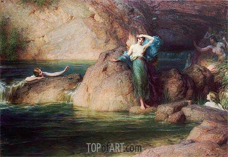 Halcyone, 1915 | Herbert James Draper | Painting Reproduction