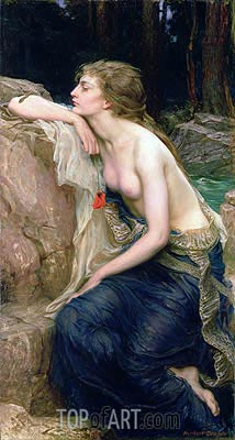 Lamia, c.1909 | Herbert James Draper | Painting Reproduction