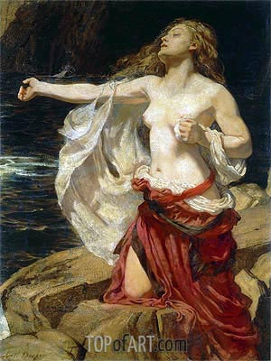 Ariadne, c.1905 | Herbert James Draper | Painting Reproduction
