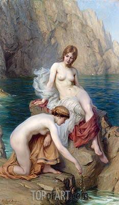 Herbert James Draper | By Summer Seas, 1912