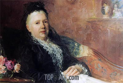 Emma Draper, 1893 | Herbert James Draper | Painting Reproduction