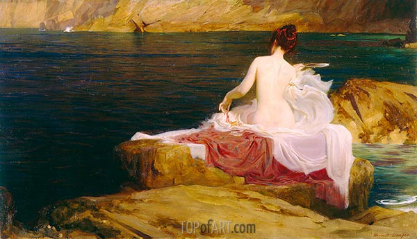 Calypso's Isle, 1897 | Herbert James Draper | Painting Reproduction