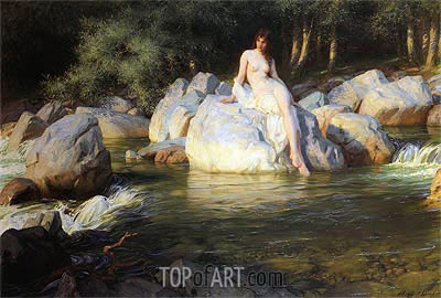 Herbert James Draper | The Kelpie, 1913