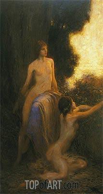 Herbert James Draper | Reveil, 1918