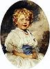 Betty Tanner (A Souvenir of Limoges) | Herbert James Draper
