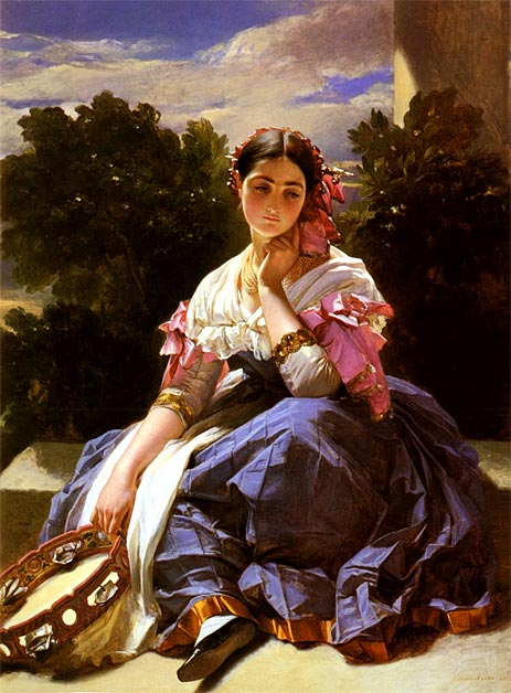 Winterhalter | Young Girl From Ariccia, 1838