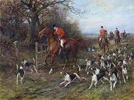 Drawing Covert, undated by Heywood Hardy | Painting Reproduction