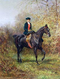 The Morning Ride, 1891 by Heywood Hardy | Painting Reproduction