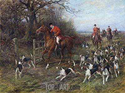 Drawing Covert, undated | Heywood Hardy | Painting Reproduction