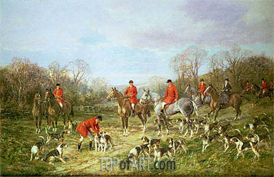 The Meet, undated | Heywood Hardy | Painting Reproduction