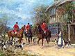 A Halt at the Inn, undated | Heywood Hardy