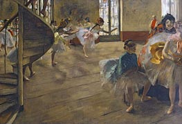 The Rehearsal | Degas | Painting Reproduction