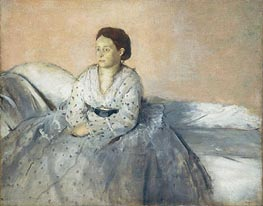 Madame Rene de Gas, c.1872/73 by Degas | Painting Reproduction