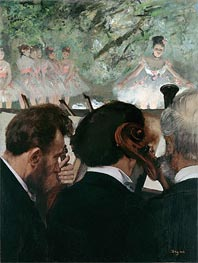 Musicians in the Orchestra | Degas | outdated