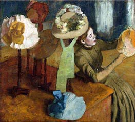 The Millinery Shop | Degas | veraltet