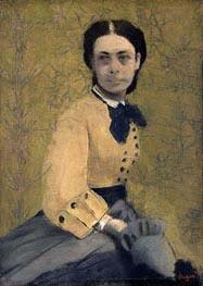 Princess Pauline de Metternich, c.1865 by Degas | Painting Reproduction